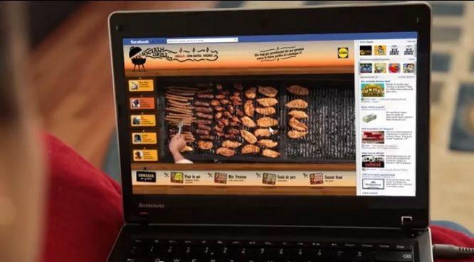 En Roumanie, Lidl organise un barbecue géant sur les réseaux sociaux !