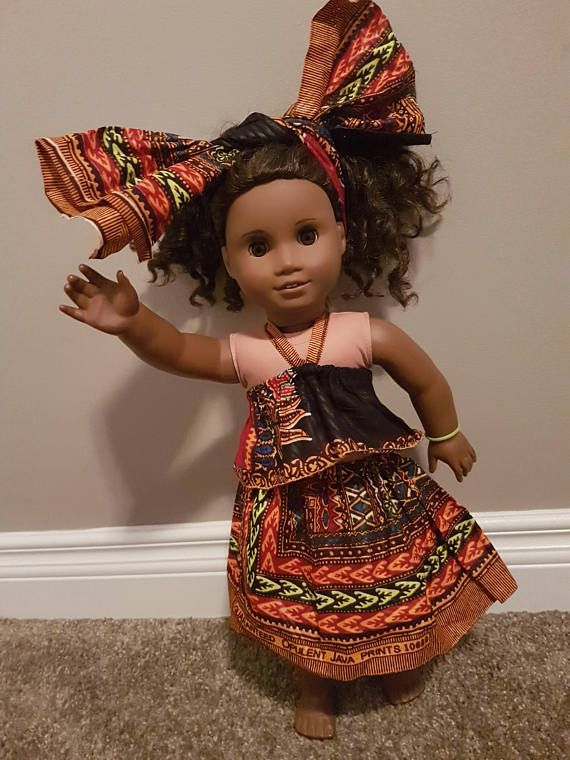 Check out this item in my Etsy shop https://www.etsy.com/ca/listing/544913521/18-inch-doll-dashiki-african-attire