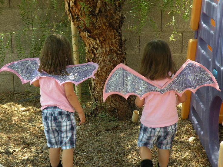how to make dragon wings!