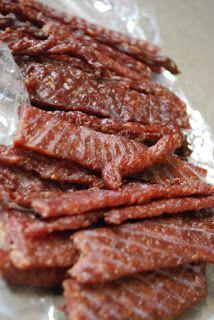 DIY Homemade Beef Jerky - Great Guy Food Gift Idea