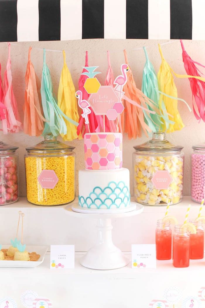 223 Best Images About Pineapple And Flamingo Themed Party