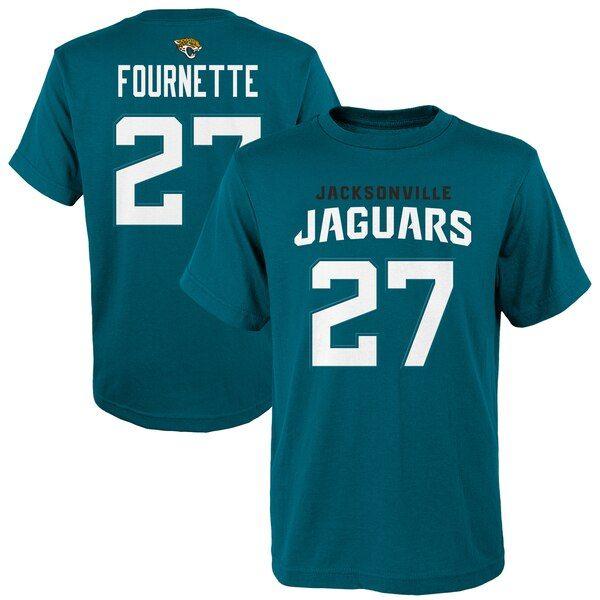 Leonard Fournette Jacksonville Jaguars Youth Mainliner Player Name Number T Shirt Teal Jacksonvillejaguars Jacksonville Jaguars Jaguars Jacksonville