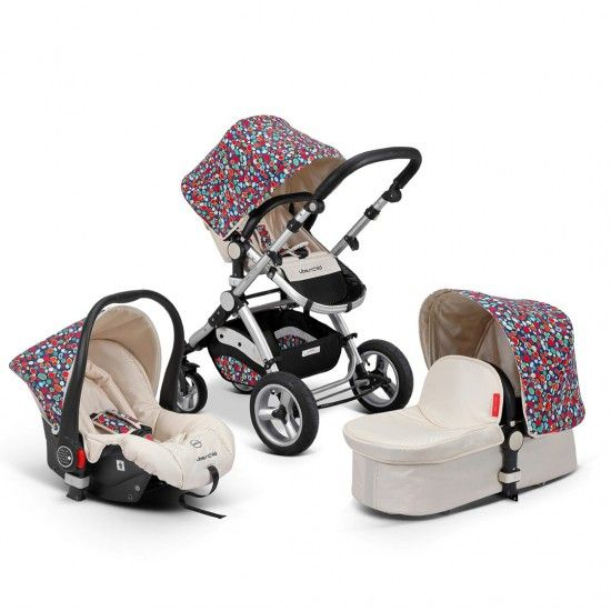 Uberchild EVO 3 in 1 Travel System Pram - Rainbow Spots Uberchild.com