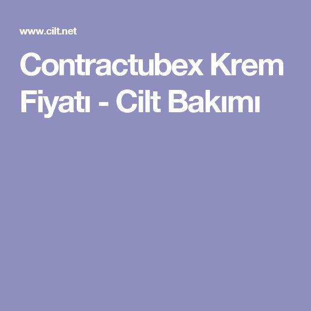 Contractubex Krem Fiyatı - Cilt Bakımı