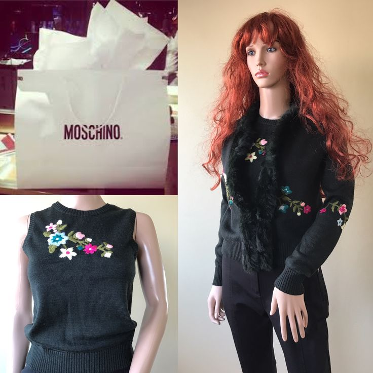 Just arrived #MOSCHINO. Visit me at www.classycloset.co.uk