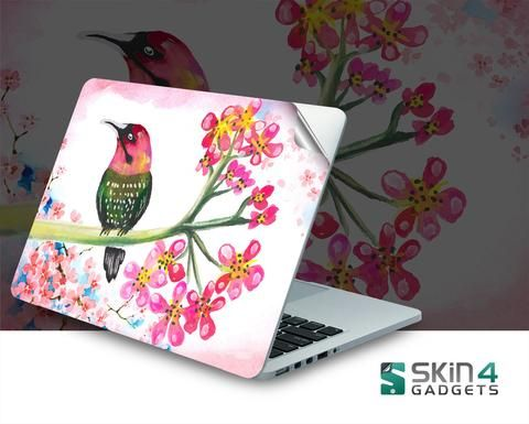 Skin4Gadgets Painted Bird Laptop Skin For 15 and 15.6 inch Laptop