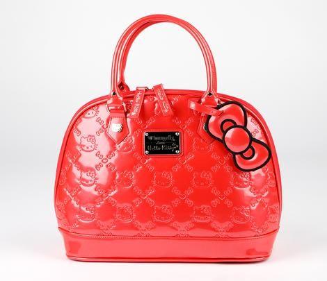 Hello Kitty Embossed Handbag: Poppy