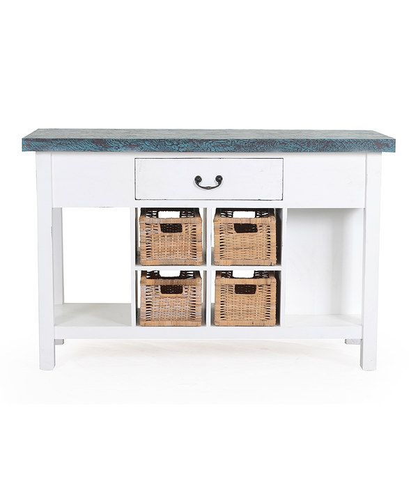 Look at this Nantucket Storage Console on #zulily today!