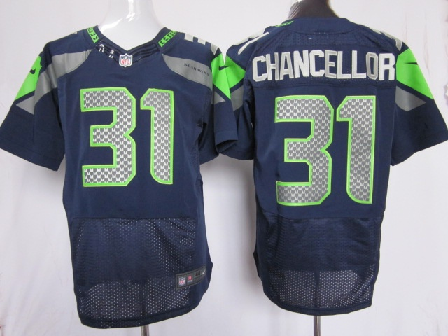 414a32a59 2012 new nfl jerseys seattle seahawks 31 kam chancellor grey elite ...