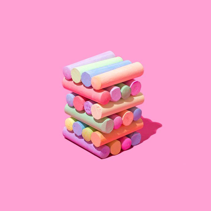 Jenga Chalk / Violet Tinder Studios for Yoobi
