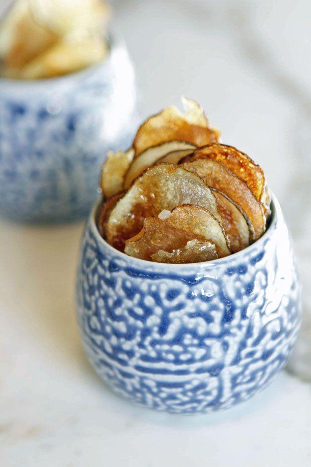 Oven-Fried Potato Chips | Eat • Drink • Garden • Santa Barbara ...