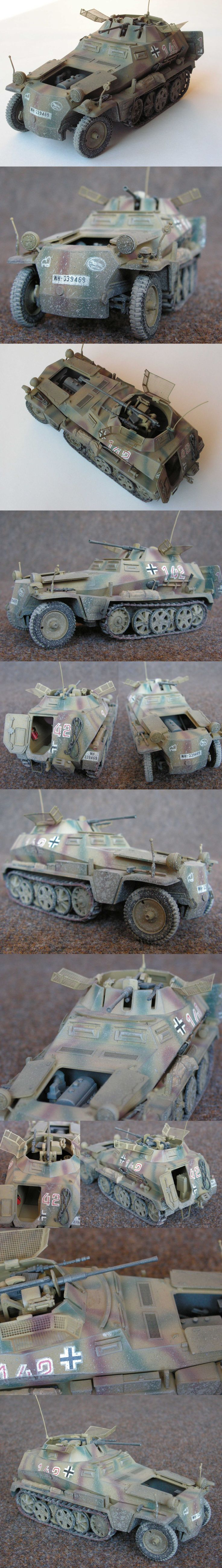 SdKfz 250/9 116. Panzer Division Tamiya