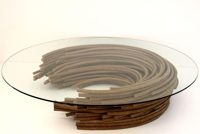 Table by Domingos Tótora http://www.domingostotora.com.br/designs/designs_14b.html