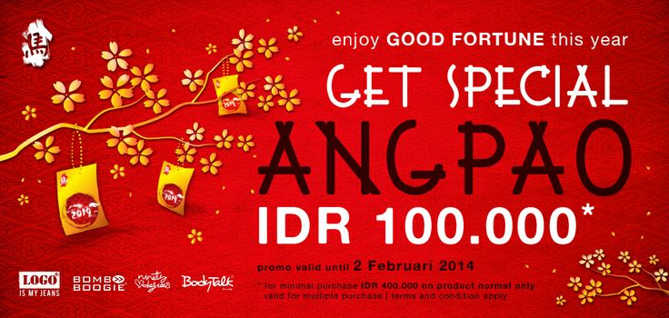 Free special angpao Rp.100.000 for every purchase min.Rp.400.000. Shop with us now: www.bodytalk.co.id