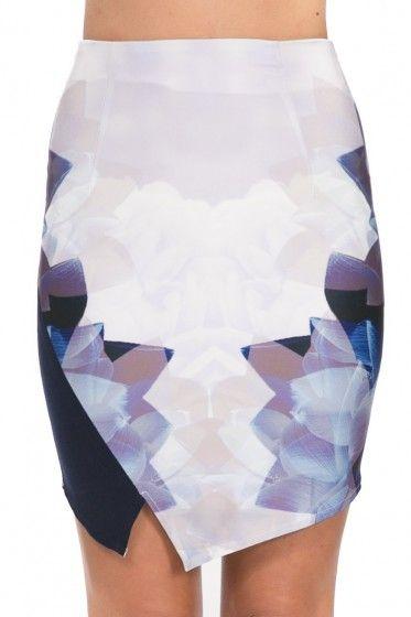 Gave Passion Skirt – Purple & Blue $34.95