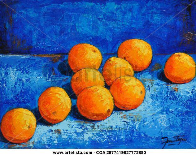 17 mejores ideas sobre arte de u as de color naranja en - Cuadros con colores calidos ...