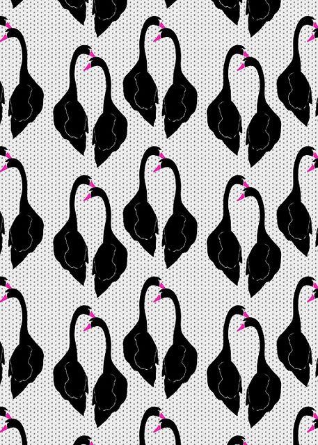 Black Swans Pattern | Flickr: Intercambio de fotos