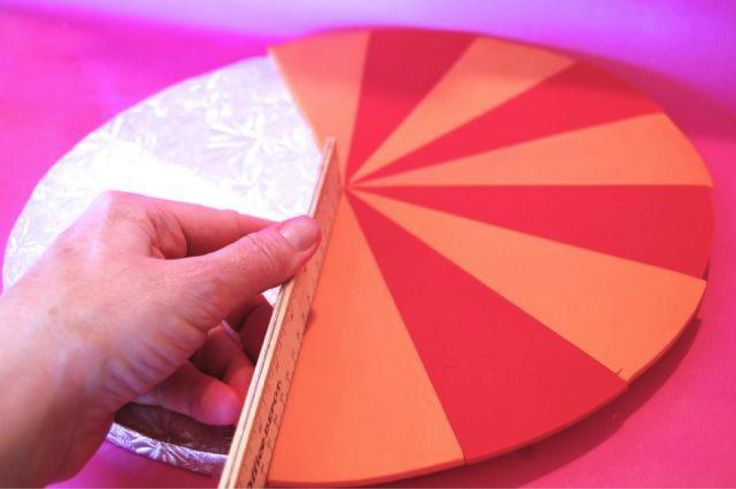 Make Even Simple Cakes Shine With The Starburst Cake Board Design! Posted by Lesley