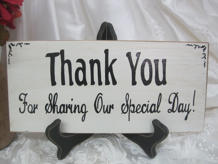 Thank You Sign For Wedding Gift Table : ... signs on Pinterest Gift Table Signs, Gift Table and Wedding Gift