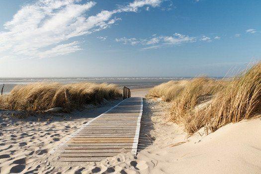 Toegang naar het strand bij Schoorl
