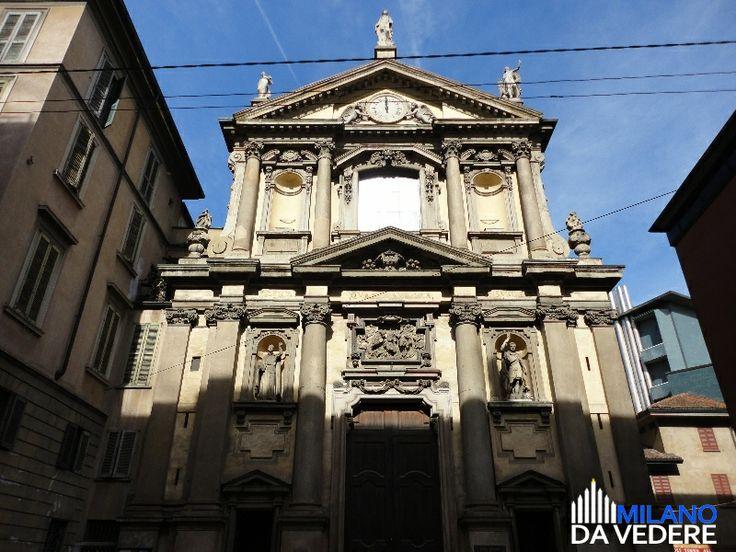 S.Maria alla Porta #milano #milanodavedere www.milanodavedere.com