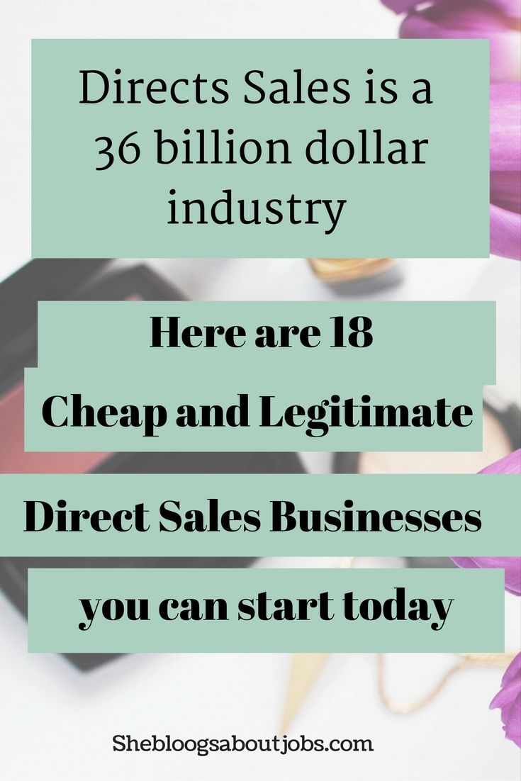 18 direct sales companies that you can join for an affordable price. Learn more here.
