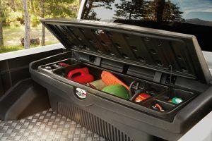 Nissan Navara Double Cab - Exterior - Coffre de benne plastique