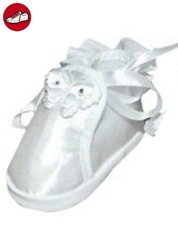 Festlicher Schuh für Ihre Taufe oder Hochzeit - Taufschuhe für Mädchen, Babies in Gr. 18 TP05 - Kinder sneaker und lauflernschuhe (*Partner-Link)