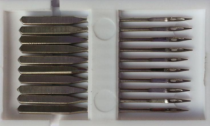 10 Nähmaschinennadeln Stärke Universal sortiert 70-100