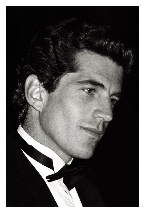 John F. Kennedy, Jr. photographed by Roxanne Lowit.