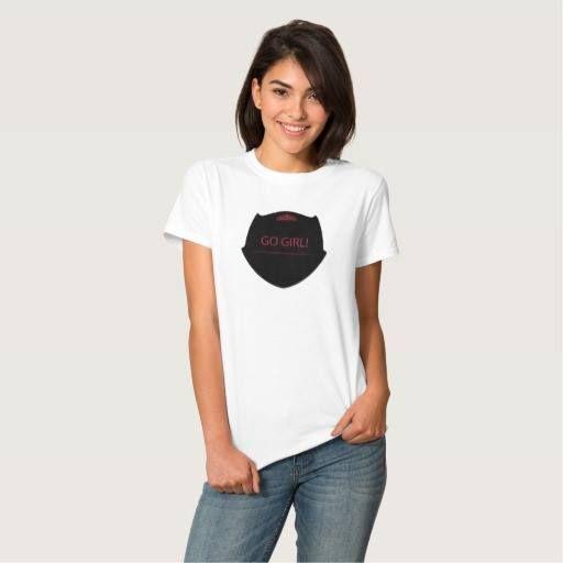 (Go Girl T-Shirt) #Encouragement #Girl #Girls #GoGirl #Motivation #Women #WomenS is available on Funny T-shirts Clothing Store   http://ift.tt/2dp56WT