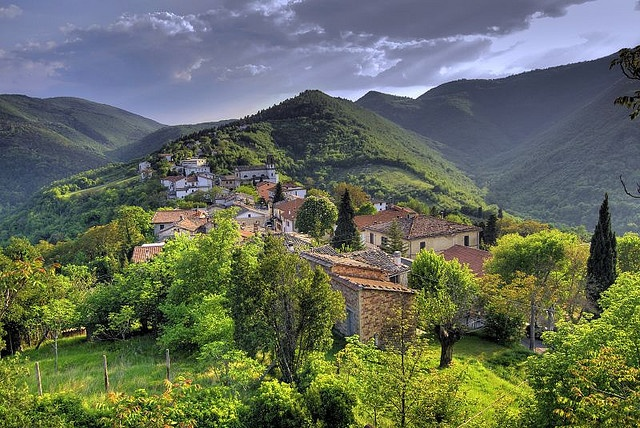 Landscape in Marche - Italy by emorpi, via Flickr