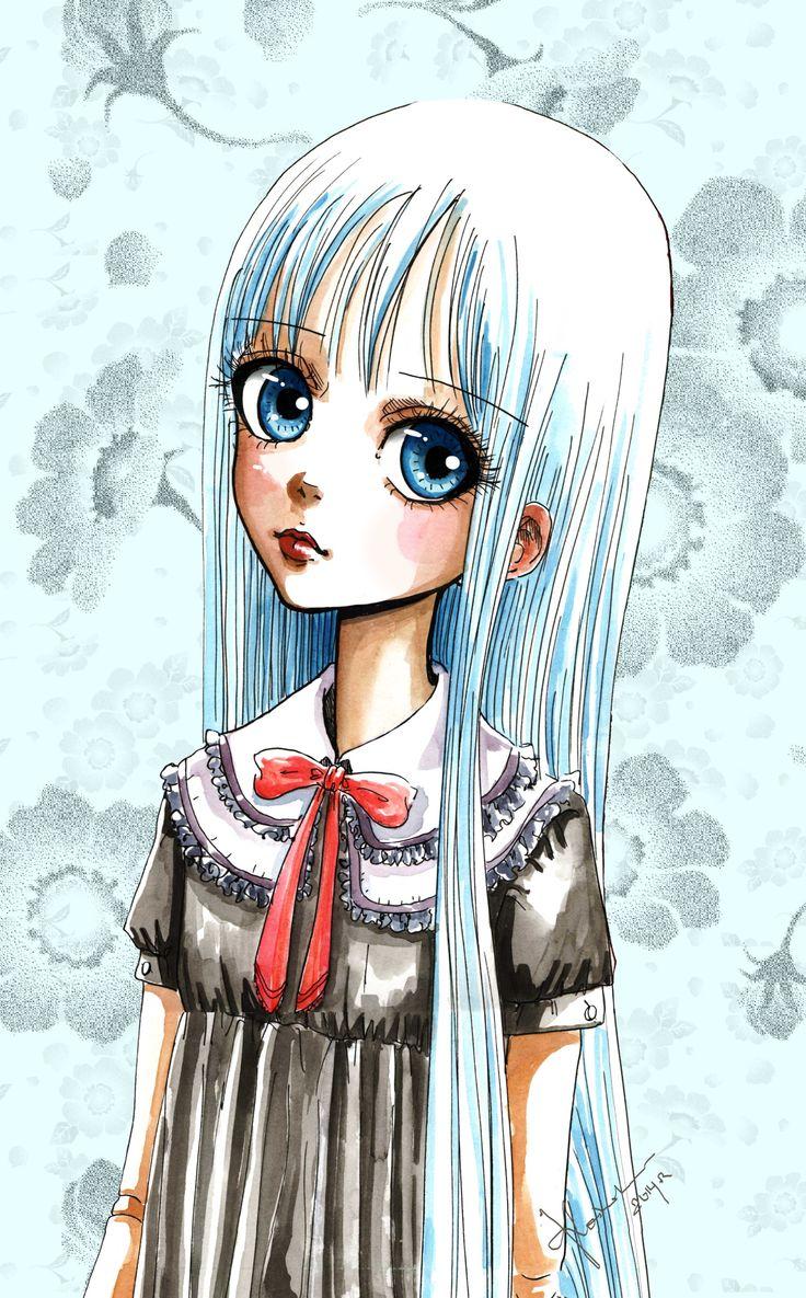 """""""Doll"""" by Kashoka --- technika mieszana"""