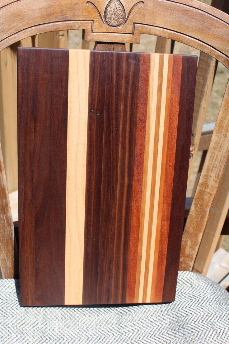 Handcrafted Wood Cutting Board by HappyKnotsDesigns on Etsy https://www.etsy.com/ca/listing/455696048/handcrafted-wood-cutting-board