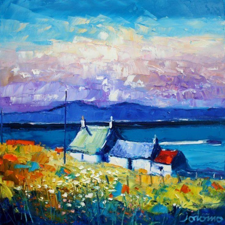 """Evening Gloaming Ardionra Isle Of Iona""   John Lowrie Morrison"