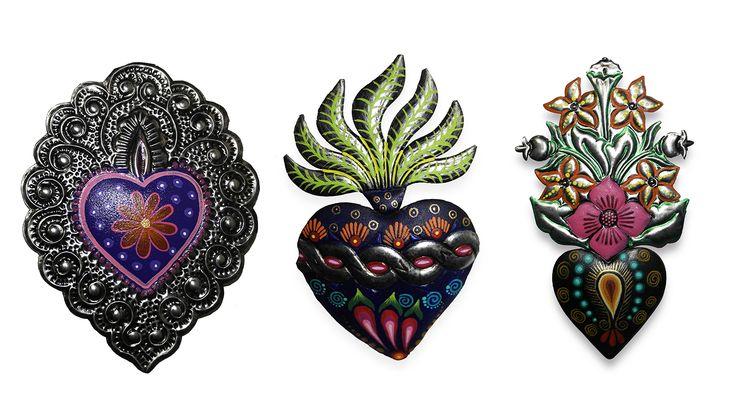imagenes de corazones mexicanos - Buscar con Google