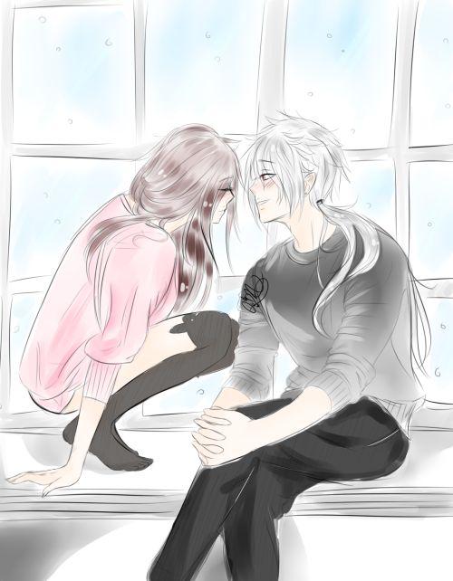 Immagine di anime, boy, and couple