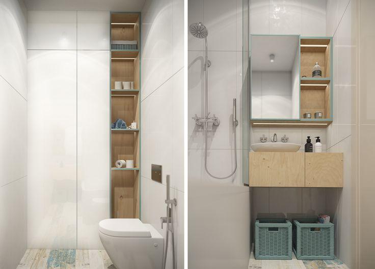 Квартира 40 кв.м. - Cтудія HG interior design