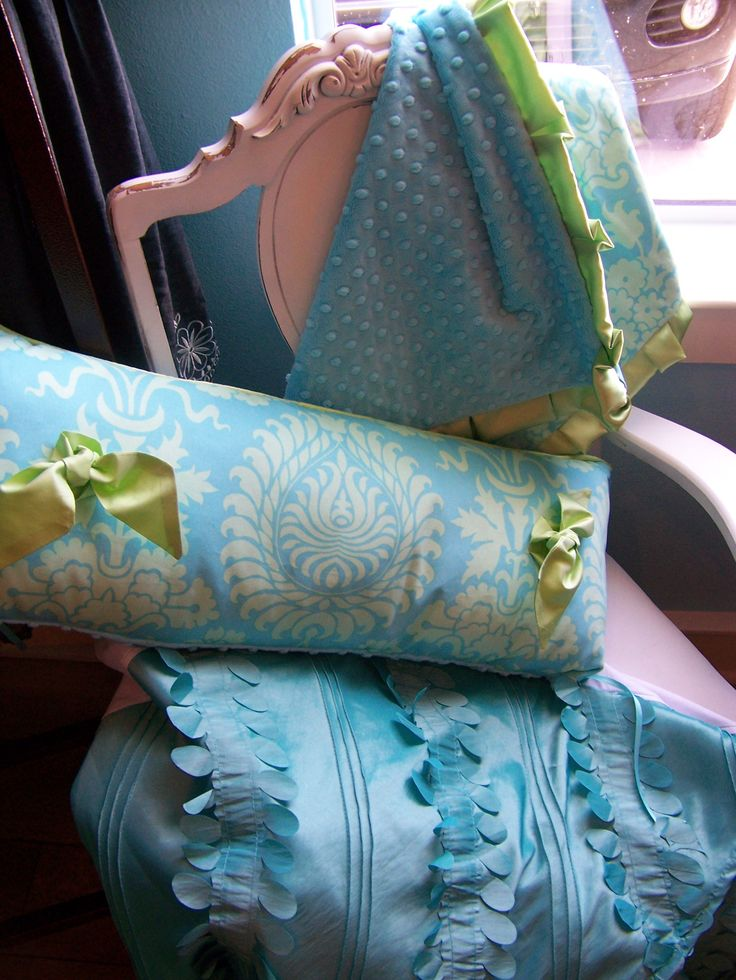 Custom bedding by Southern Bliss Boutique, Frisco, TX
