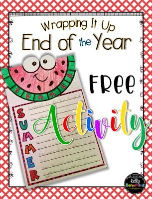 Upper Elementary Snapshots: Easy Prep Activities for the End of the School Year and a Freebie!