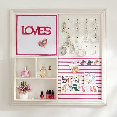 2x2 Lilac Rose Sentiment Stripe Style Tile 2.0 Set #pbteen
