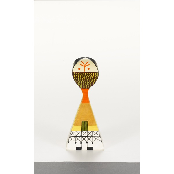 WOODEN DOLL NO13 BY ALEXANDER GIRARD