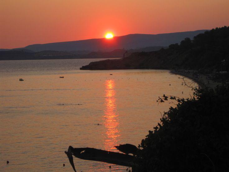 Sunset in Lassi Kefalonia