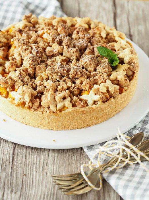 Flut-Katastrophe oder Pfirsich-Crumble-Pie