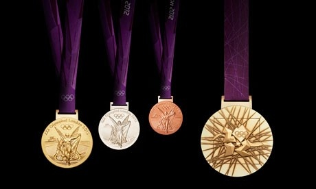 London 2012 olympic medals - WatchOlympics2012Online dot org