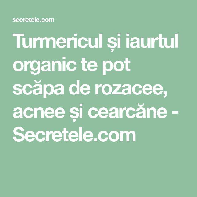 Turmericul și iaurtul organic te pot scăpa de rozacee, acnee și cearcăne - Secretele.com