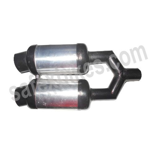 Buy HIGH PERFORMANCE SILENCER TWIN FOR ALL BIKES ZADON On Special Discount From Safexbikes.com - Motorcycle Parts And Accessories Online Shopping