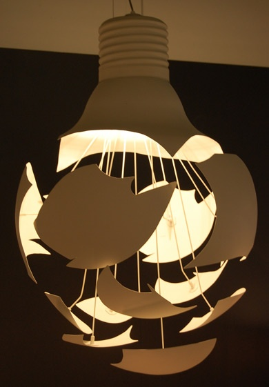 Northern Lighting's Scheisse lamp. Find out more about this lamp at www.northernlighting.no. #Scandinavian #Nordic