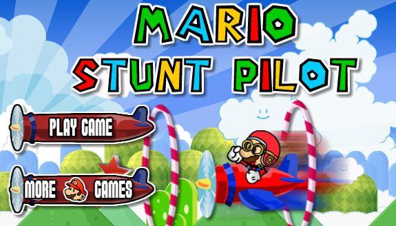 لعبة ماريو الطيار الماهر المحترف لعبة حلوة من العاب ماريو  Mario Games الرائعة جداً علي العاب فلاش ميزو