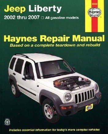 jeep liberty 2007 repair manual